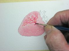 How to paint strawberries in watercolor, free online tutorial. How to paint strawberries in watercolor, free online tutorial. Watercolor Fruit, Watercolour Painting, Painting & Drawing, Watercolor Tips, Watercolors, Watercolour Tutorials, Watercolor Techniques, Painting Techniques, Painting Lessons