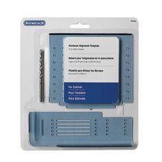 Amerock Cabinet Hardware Mounting Template -  Overstock.com
