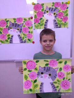 Kids Art Class, Art For Kids, First Grade Art, Spring Art Projects, Kindergarten Art Projects, Art Lessons Elementary, Art Programs, Preschool Art, Art Classroom