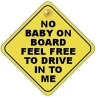 Ha ha!!  I always wondered if those signs deterred anyone from hitting another car! LOL