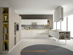 euromobil cucina filoline antis fusion fitted kitchens euromobil