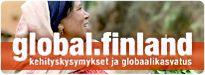 Global.finland.fi on ulkoministeriön kehitysviestinnän verkkojulkaisu, joka käsittelee kehityskysymyksiä eri näkökulmista.   Kirjoittajan nimellä varustetut artikkelit edustavat yksinomaan kirjoittajan kantaa.