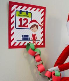 Printable Elf Antic #38 // Countdown to Christmas - Christmas Elf Activity // Advent Calendar, Christmas Craft // INSTANT download // C-A03