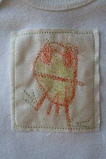 cute stitched drawing