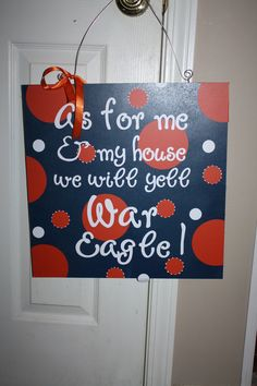 As For Me and My House - Auburn Tigers