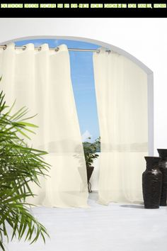 Outdoor Decor Escape 54 by 108-Inch Voile Grommet Top Panel, Ivory #tech #fpv #camera #kit #panel #decor #shopping #outdoor #ivory #54 #voile #drone #108-inch #gadgets #by #grommet #products #escape #parts #technology #top #racing #plans