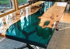 table collection wood epoxy transaparent resin modern and minimal rustic natural art beauty 40 Resin Furniture, Art Furniture, Painted Furniture, Woodworking Jigs, Woodworking Projects, Woodworking Furniture, Woodworking Equipment, Woodworking Machinery, Woodworking Magazine