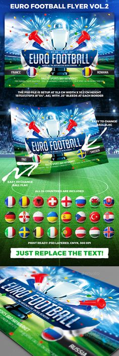 Football Night Flyer Flyer template, Ai illustrator and Template