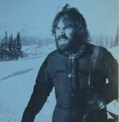 Dennis Wilson in the snow