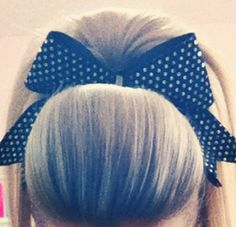 cheer hair: so ready for competitions to start !