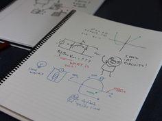 鉛筆の弱点を克服!便利なホワイトボードが持ち運べるノートになった! : Wipebook