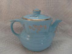 Vintage Enterprise Aluminum Superior Quality Kitchen Ware Coffe percolator / coffee pot / teapot Hall China baby blue AWESOME. $25.00, via Etsy.