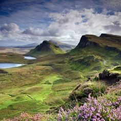 The mystical Isle of Skye, Scotland - beautiful land of myths and mists.