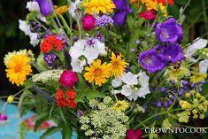 Seasonal bouquet - midsummer abundance