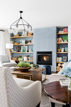 In a home, there's nothing quite like the timeless look of exposed brick walls. Get step-by-step instructions for replicating this classic look on your fireplace.