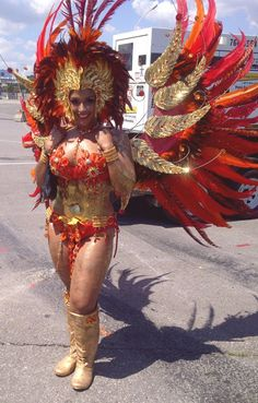Carnival! Mas! Soca! Colour!