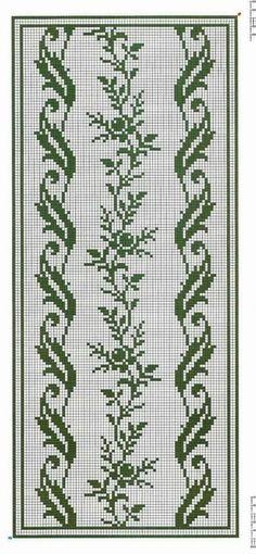 Cross Stitch Borders, Cross Stitching, Cross Stitch Patterns, Crochet Chart, Knit Crochet, Crochet Patterns, Graph Design, Wedding Pillows, Knitting Needles