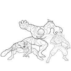 Spiderman Vs Venom Coloring Pages Spiderman Coloring Spiderman