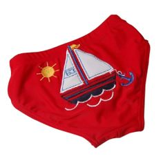a7c46539a Opentip.com: TopTie Toddler Boys' Swimming Trunk, Red Sailing Boat Sailing  Boat