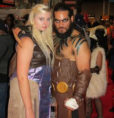 Daenerys Targaryen and Khal Drogo Cosplay