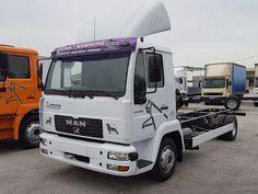 Εμπόριο Φορτηγών - Αυτοκινήτων - Γερανών: Man L2000 8.225