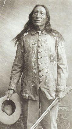 Chief Iron Tail in Uniform, c.1900