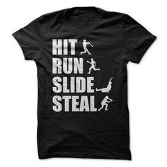 Hit Run Slide Steal - shirt tee. Hit Run Slide Steal, tee quotes,sweatshirt chic. It T Shirt, T Shirt Yarn, T Shirt And Jeans, Sweater Shirt, Sweater Blanket, Big Sweater, Sweater Boots, Sweatshirt Outfit, Purple Sweater