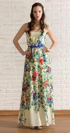 Vestido Longo Botânico | Lookbook | Antix Store                                                                                                                                                                                 Mais