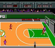 Magic Johnson's Fast Break - Nintendo NES