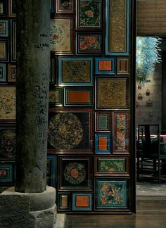 Modern Living Room Ideas With Artistic Chinese Chinese Interior, Asian Interior, Chinese Architecture, Interior Architecture, Texture Sol, Indochine, Asian Decor, Restaurant Design, Chinese Restaurant