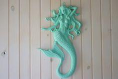 Mermaid+Wall+Decor++Little+Mermaid++Mermaid+by+ByTheSeashoreDecor,+$92.00