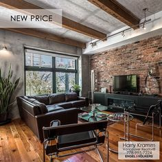 NEW PRICE in the Heart of Yaletown. This immaculate 2 bedroom suite in a boutique heritage building - The McMaster. Complete with A/C and 2 side by side parking spots - a rarity for Yaletown. Viewing by appointment only! . . #wp #linkedin #socialrealtor
