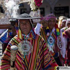 Celebrando o aniversário de Cusco