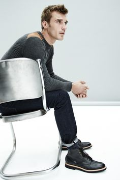 Clément Chabernaud Models Updated J.Crew Men's Classics