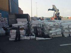 52 tonnes d'armes pour nos migrants !