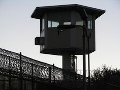 prison guard tower by Rennett Stowe, via Flickr