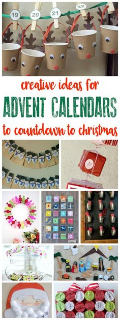 More than 30 creative ideas for making advent calendars