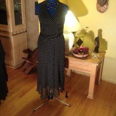 Selling this Price Drop. Silk halter dress in my Poshmark closet! My username is: edwardswife. #shopmycloset #poshmark #fashion #shopping #style #forsale #Willi Smith #Dresses & Skirts