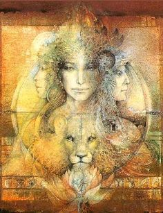 Honoring XV the 3 shaman ladys with wild cat companion