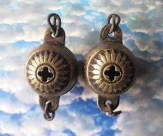 2 Fabulous Rare Antique Victorian Reclaimed Stamped by StarPower99, $SOLD