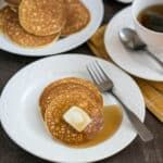 This easy cream cheese pancakes recipe is keto and low carb. And with less than a carb per serving, they are the perfect keto pancakes for a low carb breakfast! Blueberry Cream Cheese Muffins, Cream Cheese Sugar Cookies, Cream Cheese Pancakes, Coconut Flour Pancakes, Keto Pancakes, Chocolate Chia Pudding, Chocolate Mug Cakes, Free Keto Recipes, Bread Recipes