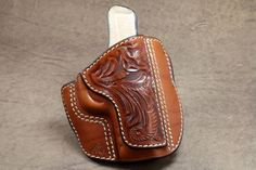 Leather Holster Pattern – Pancake: