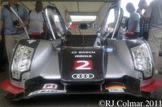 2011, Audi R18 TDI, Goodwood Festival of Speed.