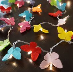Luz De Fada Borboletas Coloridas Diwali Craft, Butterfly Party, Newspaper Crafts, Teen Room Decor, Light Crafts, Diy Home Crafts, Recycled Crafts, Holidays And Events, Handicraft