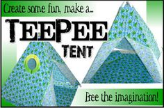 Sew A Tee Pee And Accessories For Your Tribe Of Kids