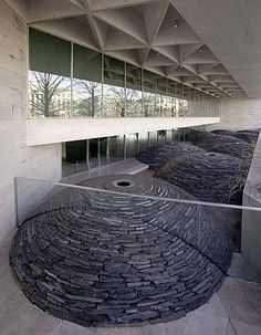 View Roof by Andy Goldsworthy on artnet. Browse more artworks Andy Goldsworthy from Galerie Lelong Co. - New York. Andy Goldsworthy Art, Sculptures For Sale, Metal Sculptures, Bronze Sculpture, Wood Sculpture, Artwork Images, Urban Setting, National Gallery Of Art, Sculptures