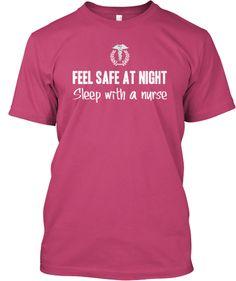 FEEL SAFE AT NIGHT - Sleep with a NURSE!