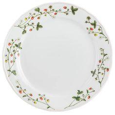 Jordbæreng: Kakefat 29cm fra Porsgrund Porselen - Hyttefeber.no Porcelain, Pottery, Plates, Tableware, Products, Ceramica, Licence Plates, Porcelain Ceramics, Dishes