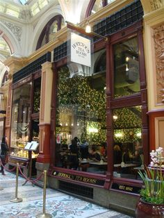 Block Arcade with Hopetoun Tea Rooms Melbourne Victoria Australia