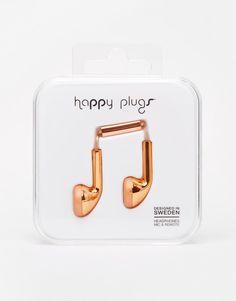 Bild 1 von Happy Plugs – Kopfhörer in Roségold
